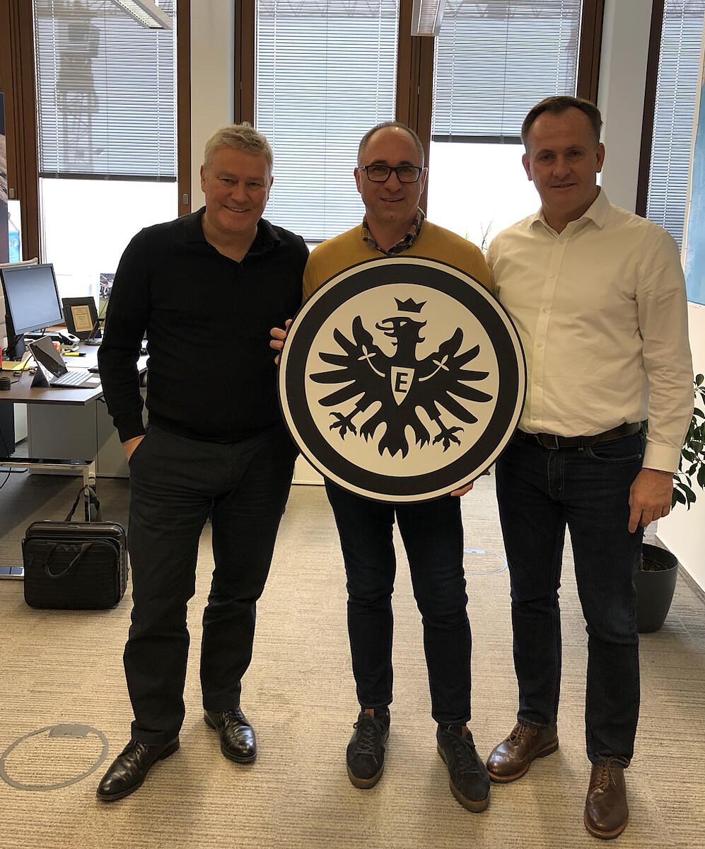 Eintracht Frankfurt WANDCOVER von FANSAT