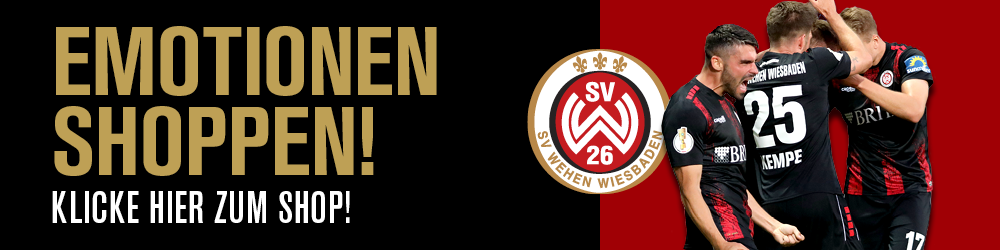 SV Wehen-Wiesbaden Emotionen shoppen